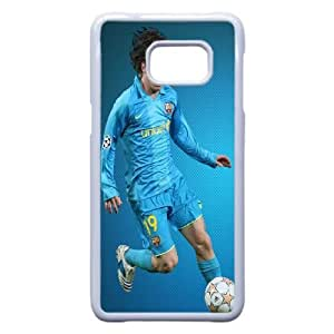 TPU Lionel Messi_001 Samsung Galaxy S6 Edge Plus Cell Phone Case White Protective Cover