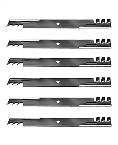(6 Mulching Blades (3 sets) to replace the 403107, 405380, blade used on newer Craftsman, Poulan, Husqvarna, 46