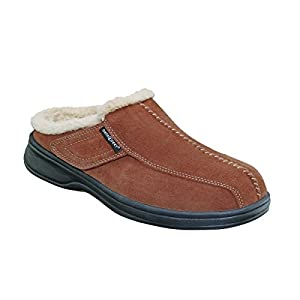 Orthofeet Proven Plantar Fasciitis Pain Relief Arch Support Orthopedic Women's Leather Slippers Asheville