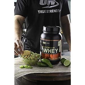 OPTIMUM NUTRITION GOLD STANDARD 100% Whey Protein Powder, French Vanilla Creme 2LB