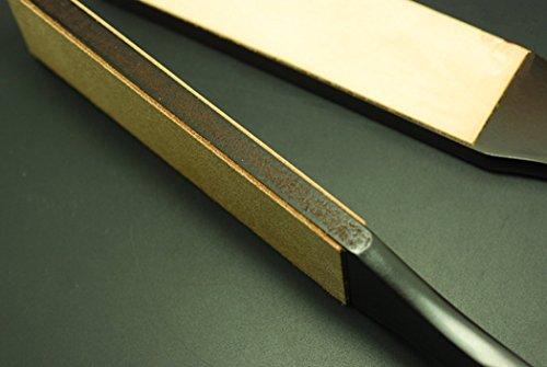 Inton Leathercraft Knife Blade Sharpener Whetstone Stand Rouge Stick Leather Sharpener Grinding Set (Japanese) by Inton (Image #2)