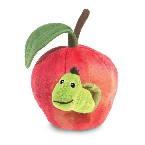 Folkmanis Worm in Apple Finger Puppet Finger Puppet