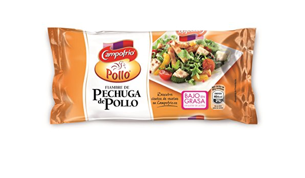 Campofrio, Mini Pechuga de Pollo Pavofrio, 380 gr: Amazon.es ...