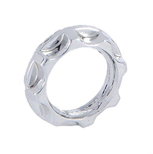B&P Lamp Chrome Finish Ring For Threaded Candelabra Socket (Threaded Candelabra)