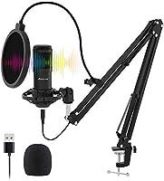 USB Streaming Microphone Kit, Stilnend Professional 192KHZ/24Bit Studio Cardioid Condenser Mic Kit with Sound Chipset...