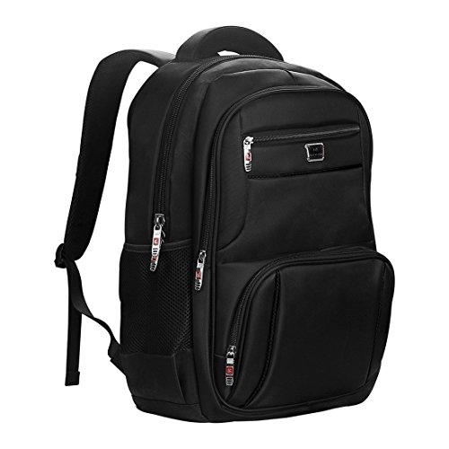 Laptop Backpack for Water-resistent Travel Business Bag, 17 Inch Backpack by ShangYu