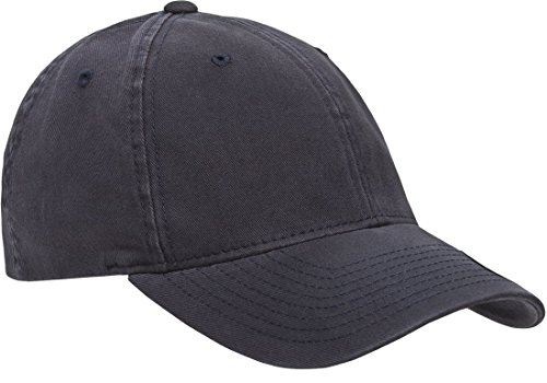 Flexfit/Yupoong Men's Low-Profile Unstructured Fitted Dad Cap, Navy, Large/Extra Large by Flexfit/Yupoong (Image #4)