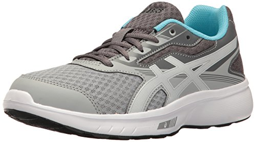 aquarium Stormer Asics Chaussures Gs Femme Running Grey Rose white Mid TaUz6wq