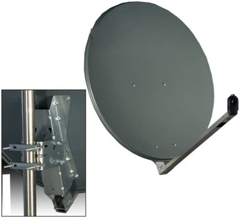Antena Gibertini 75 x 80 cm Alu Antracita: Amazon.es: Electrónica