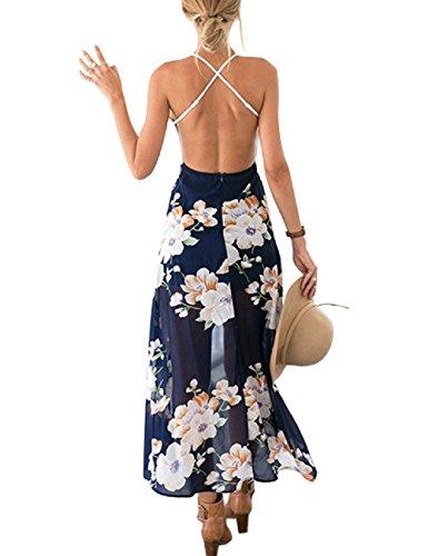 Vestito Cover Estivo Up Da Bohemian Blume Marine Lrud Bikini Abito Spiaggia Donne Estate 06z4qwSY