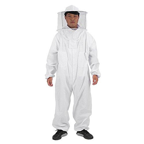 Beekeeping Suit,Acogedor New Professional Beekeeper Suit with Veil Hood,3 Sizes AvailableL/XL/XXL (XXL)
