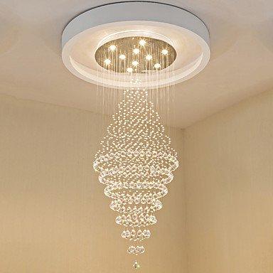 Gag - Lámpara de araña @ contemporánea de cristal Colgantes de luces LED de techo moderna lámpara LED de iluminación en casa colgantes Candelabros lámpara ...