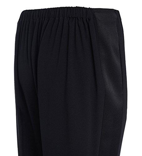 5AS2PA09799K02 Kenzo Pantalones Mujer Triacetato Negro Negro