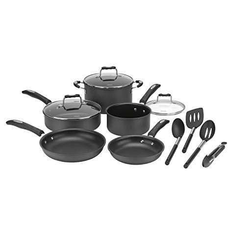 Cuisinart 12 Piece Cookware Set (Hard Anodized Aluminum)