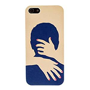 Buy Warm Hug Pattern PC Hard Case for iPhone 5/5S