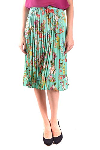 Jupe Vert Femme Polyester Mcbi36038 Pinko q0Owxva1R