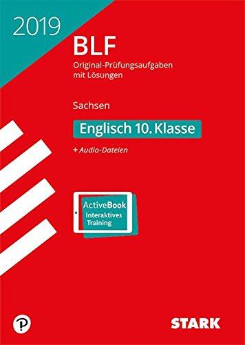 BLF - Englisch 10. Klasse - Sachsen Taschenbuch – 19. September 2018 Stark Verlag 3849035093 Lernhilfen / Abiturwissen für das Studium zu Hause