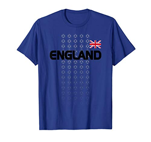 England Soccer Shirt - English National Team Fan Top