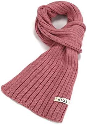 Unbekannt HMLSM Schal, Mädchen Strickwollschal, dicke warmen Schal (drei Farben optional)