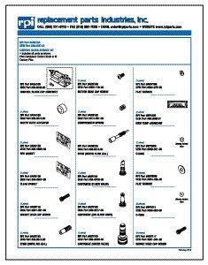 Control Block Service Kit for A-dec ADK164