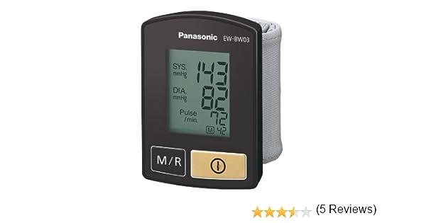 Panasonic EW-BW03 - Tensiómetro para muñeca: Amazon.es: Salud y cuidado personal