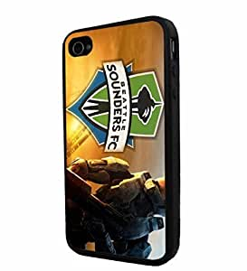 diy zhengSoccer MLS Seattle Sounders FC , Cool Ipod Touch 5 5th / Smartphone Case Cover Collector iphone TPU Rubber Case Black