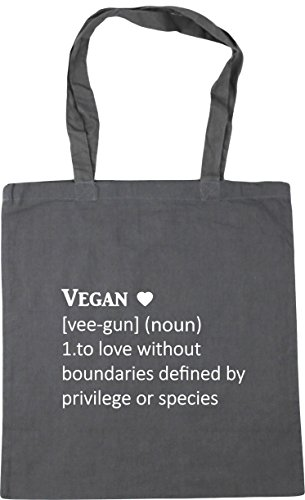 Definition Gym 10 Vegan To love Bag Grey or privilege 1 gun Beach boundaries by Graphite vee Shopping 42cm noun litres Tote without x38cm HippoWarehouse species defined 5pBnAB