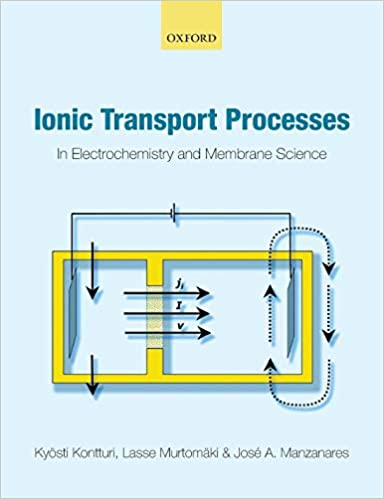Ionic Transport Processes: In Electrochemistry and Membrane Science