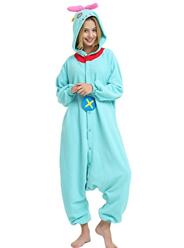 Es Unico Scrump The Doll Kigurumi-Halloween Party Costume Onesie Pajama for Adult and Teens Small