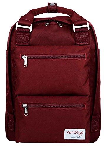 """HotStyle DayBreak Girls Backpack - Waterproof, Multi Pockets, Fits 14"""" Laptop"""
