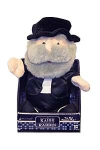 Animated Dancing Singing Rabbi Plush
