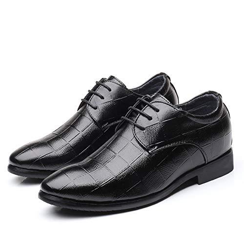 Hombre De Papel shoes Jialun Negro Cordones Zapatos Para ZzTSwWFn