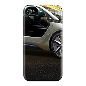 High Quality GAwilliam Bmw I3 Concept Skin Case Cover Specially Designed For Iphone - 4/4s