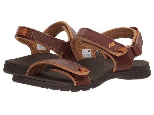 New Balance(ニューバランス) レディース 女性用 シューズ 靴 サンダル Traverse Leather Sandal - Whisky 6 B - Medium [並行輸入品]