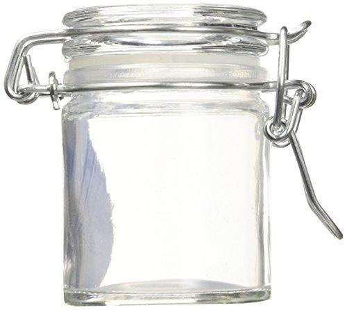 Kate Aspen 27037NA Glass Favor Jars