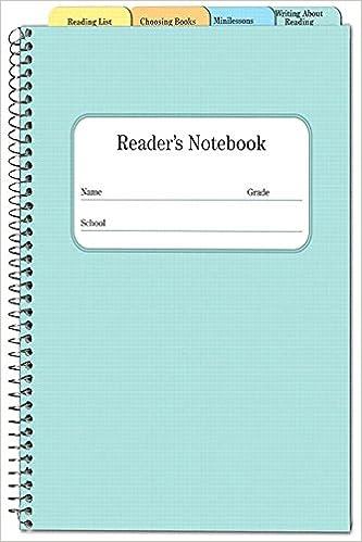 Reader S Notebook 5 Pack Irene Fountas 9780325042855