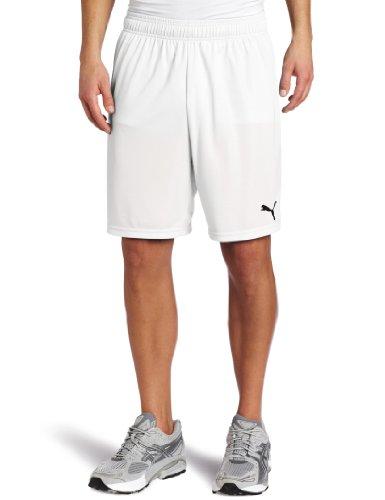 Der PUMA Herren Shorts ohne inneren Rutschkupplung White-White