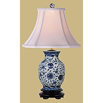 Marvelous East Enterprises LPDBJH108B Vase Table Lamp   Blue And White