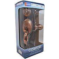 Constructor CON3997 Comfort Entry Lock Set with Door Lever Handle, Antique Copper by CONSTRUCTOR