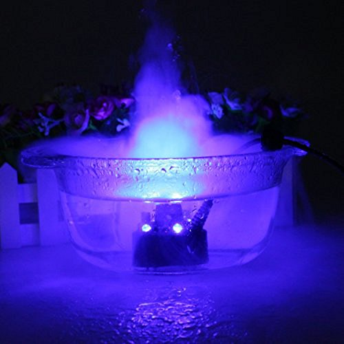 [Zorvo Ultrasonic 12-LED Mist Maker Fogger Atomizer Air Humidifer Water Fountain Pond] (Sonics Halloween)
