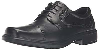 ECCO Men's Helsinki Cap-Toe Oxford Dress Shoe,Black,40 (US Men's 6-6.5) M