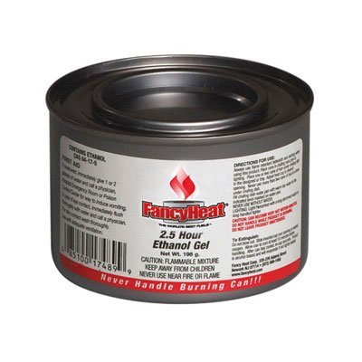 FHCF925 - Ethanol Gel Chafing Fuel Refill Can, 1 Gal, Commercial Refilling Purposes Only by FANCY HEAT