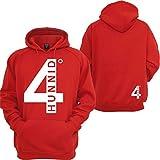 4 Hunnid Degreez Hoodie YG West Coast Taylor Gang NWA Compton Hooded Sweatshirt
