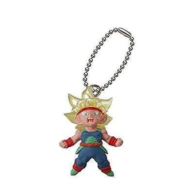 Dragon Ball Super Bardock Figure Swing Keychain ~ UDM The Best 20 ~ Super Saiyan Bardock: Toys & Games