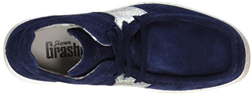 Sioux Damen Grash-d171-25 Mokassin Blau (Atlantic/silber)