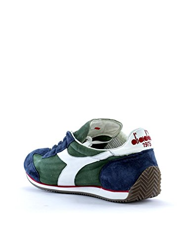 Diadora Equipe Stone Wash 12, Unisex Adults' Sneakers Green