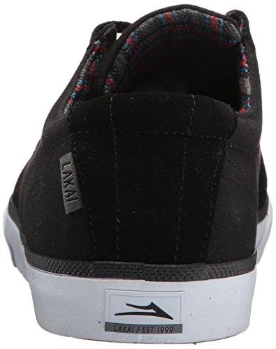 Lakai Heren Daly Skate Schoen Zwart Suède