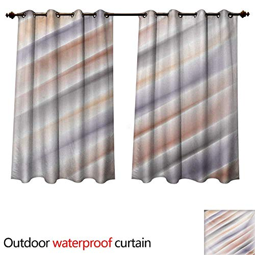 WilliamsDecor Modern Art Home Patio Outdoor Curtain Hazy Gradient Digital Pale Color Layout New Counter Culture Artwork Print W108 x L72(274cm x 183cm) ()