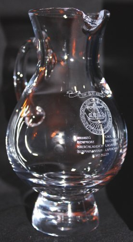ISLAY MALTS SEAL/CREST GLENCAIRN SCOTCH WHISKY IONA WATER PITCHER