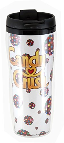 Candy Crush Insulated Color Bomb Travel Mug by Candy Crush (Candy Crush Color Bomb compare prices)